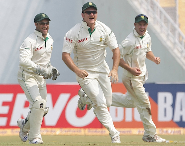 Second Test - India V South Africa: Day 3 Photograph by Gallo Images