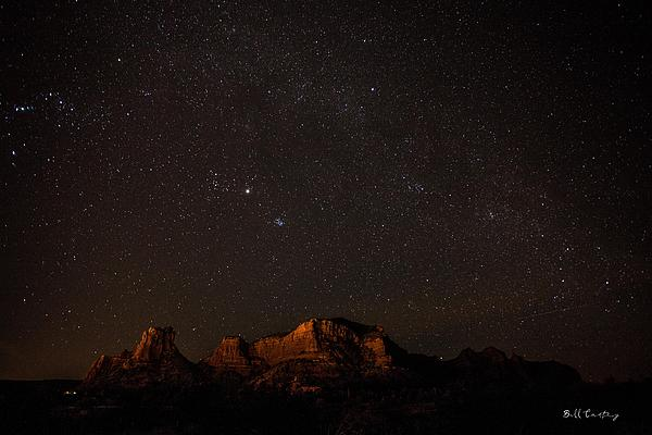 Landscape Photograph - Sedona Milky Way by Bill Cantey