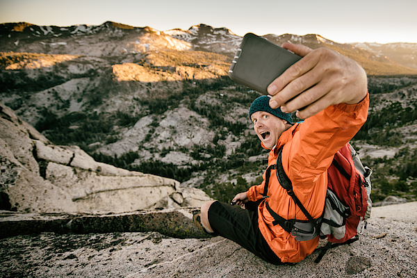 Selfie In The Backcountry Photograph by Vernonwiley