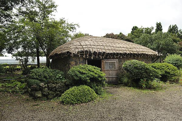 Seongeup Folk Village, Jeju Island Photograph by Wibowo Rusli