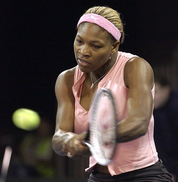 Serena Williams Of The Usa  Photograph by Jamie McDonald
