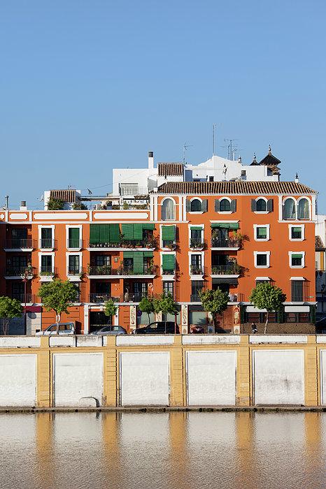 Seville Photograph - Seville House River View by Artur Bogacki
