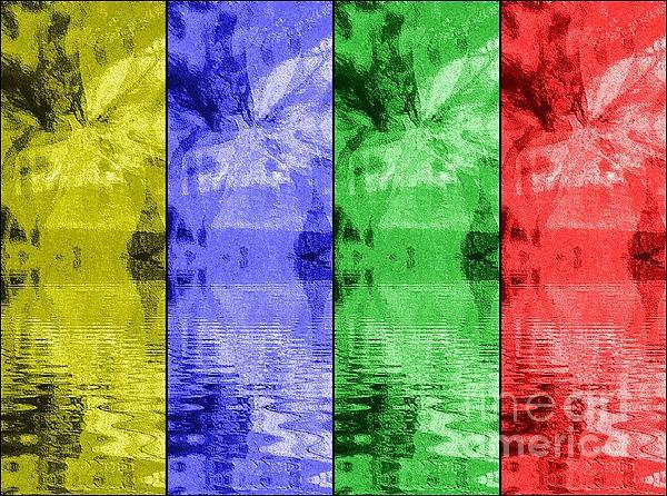 Pop Art Digital Art - Shades Of Waves by Kelly McManus