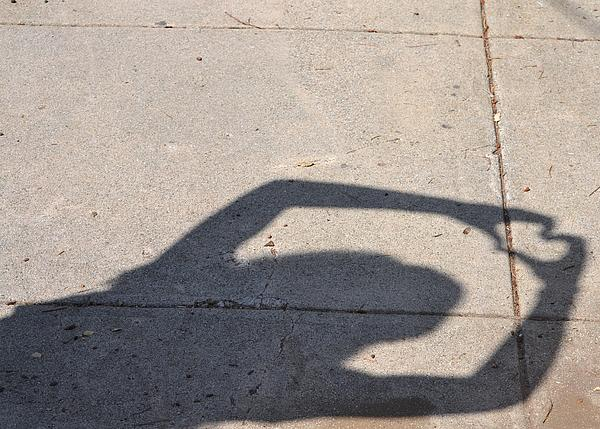 Shadow Photograph - Shadow Of Love by Kiros Berhane
