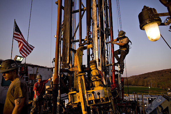 Shale Gas Costing 2/3 Less Than Opec Oil Converges With U.s. Photograph by Bloomberg