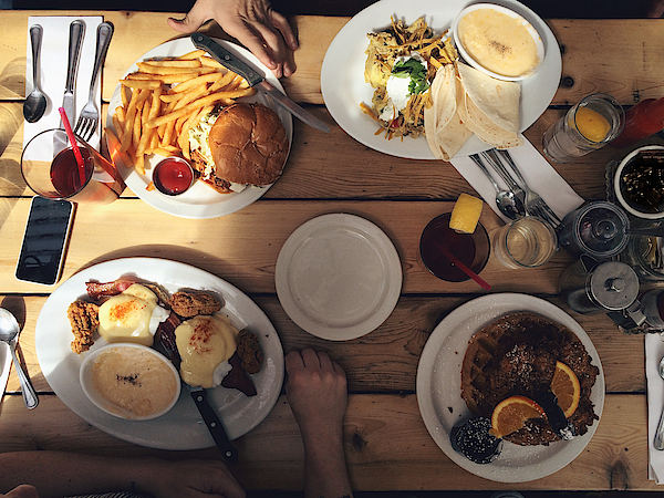 Sharing Meal Together Comfort Food Photograph by Timnewman