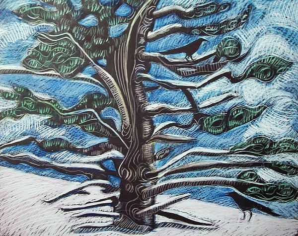 Maine Drawing - Shelter by Grace Keown