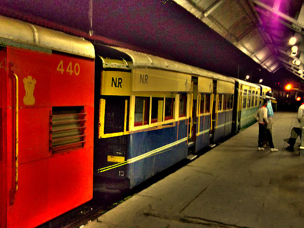 Shimla Toy Train Photograph by Salman Ravish