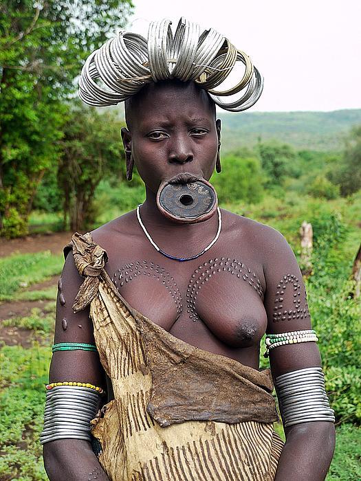 Girl Photograph - Shocking Adornment by Liudmila Di