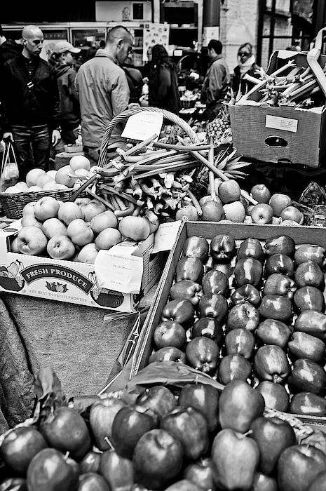 Shoppers In Londons Borough Market Photograph by Alphotographic