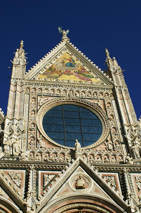 Cathedral Photograph - Sienna Cathedral by Barbara Stellwagen