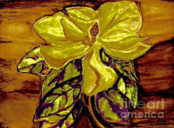 Painting Painting - Silky Magnolia by Marsha Heiken