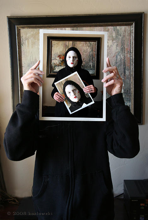 Mime Photograph - Simply A Matter Of Timing by Joe Kozlowski