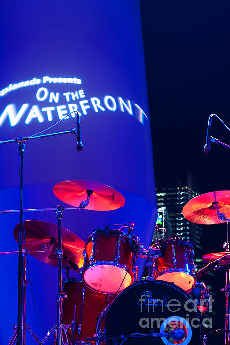 Singapore Photograph - Singapore Drum Set 02 by Rick Piper Photography