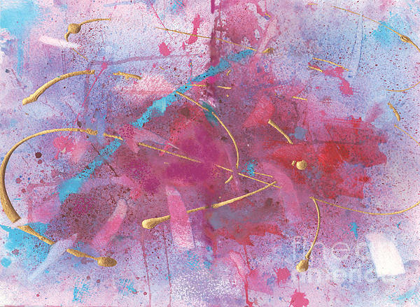 Abstract Painting - Sketchbook Explosion by Ellen Howell