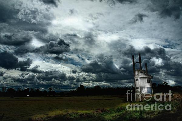 Tornado Photograph - Sky  by Thammasak Kanjananul