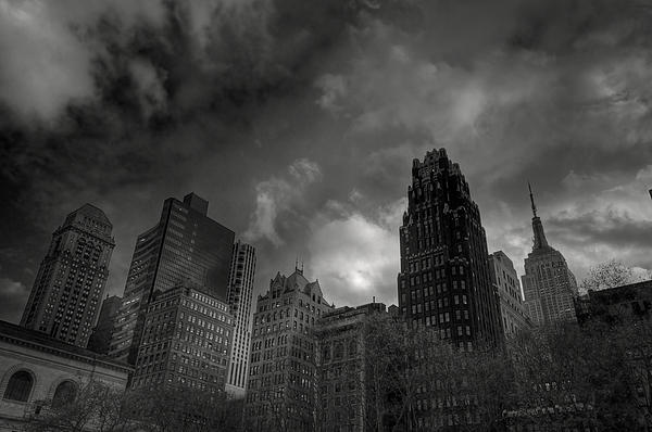 Building Photograph - Skyscrapers by Mike Horvath