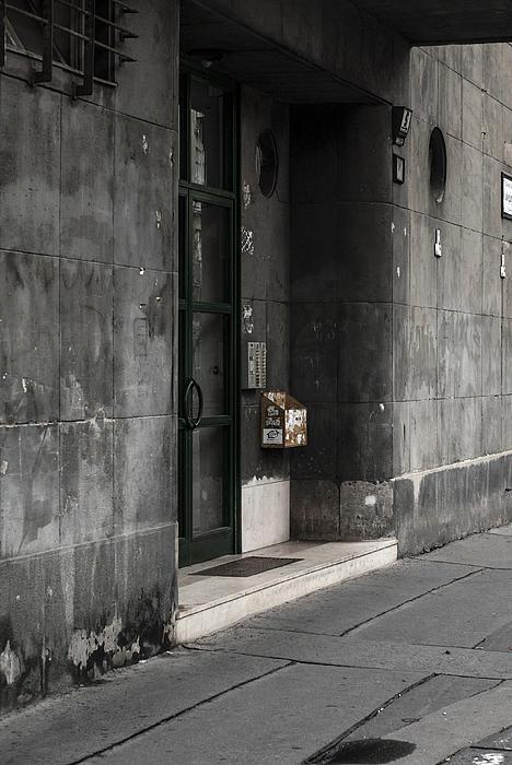 Budapest Hungary Photograph - Slate by Sabina Cosic