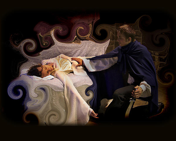 Sleeping Beauty Photograph - Sleeping Beauty And Prince by Angela Castillo