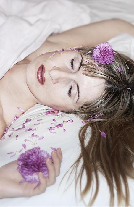 Adult Photograph - Sleeping Beauty by Svetlana Sewell