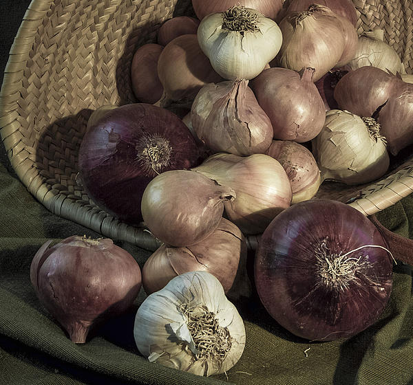 Basket Photograph - Smelly Bounty by Jean Noren