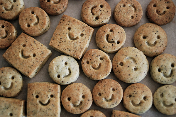 Smile Cookies Photograph by Cocoaloco