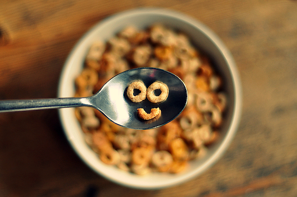 Smiling Cereal Photograph by Katesea