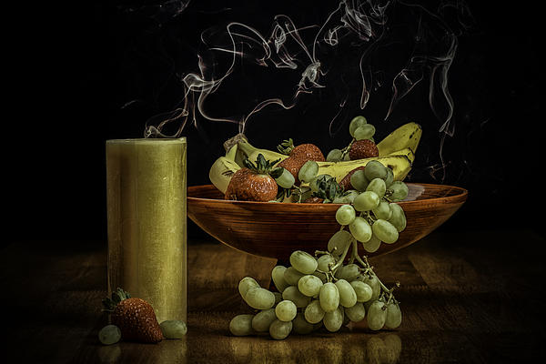 Alcohol Photograph - Smokin Bowl by PhotoWorks By Don Hoekwater