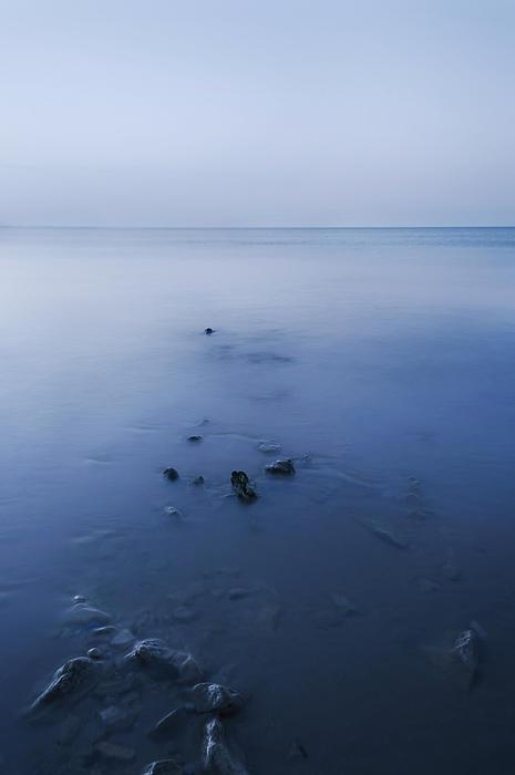 Bay Photograph - Smooth Sea by Svetlana Sewell