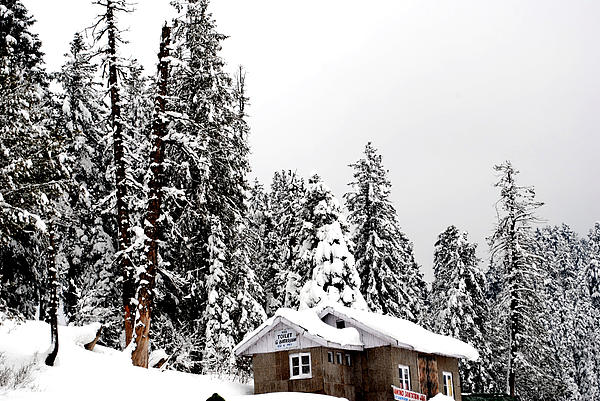 Gulmarg Photograph - Snow House- Gulmarg- Kashmir- India- Viators Agonism by Vijinder Singh
