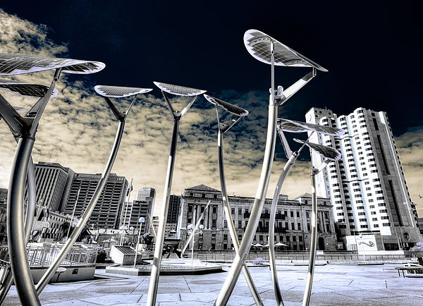 Architecture Photograph - Solar City by Wayne Sherriff