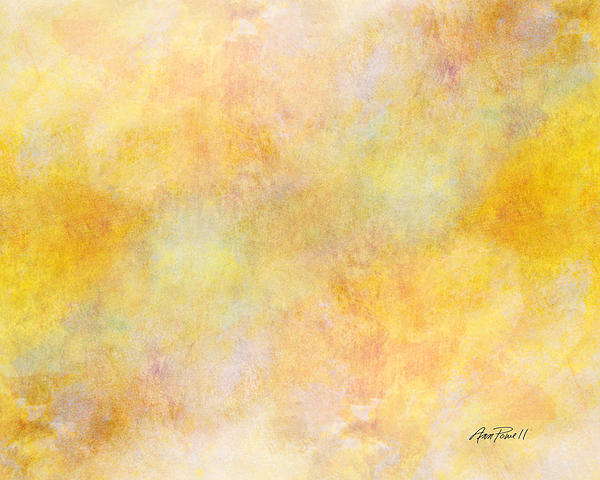 Abstract Painting - Solar Heat Abstract Art by Ann Powell