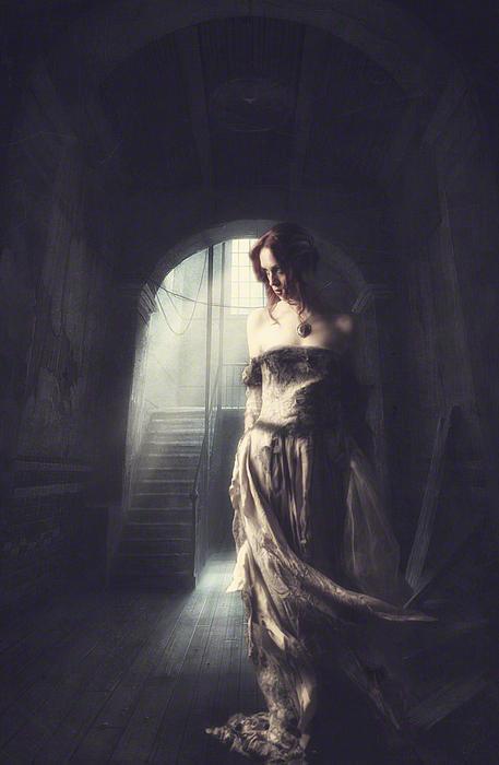 Women Photograph - Solitude by Lee-Anne Rafferty-Evans