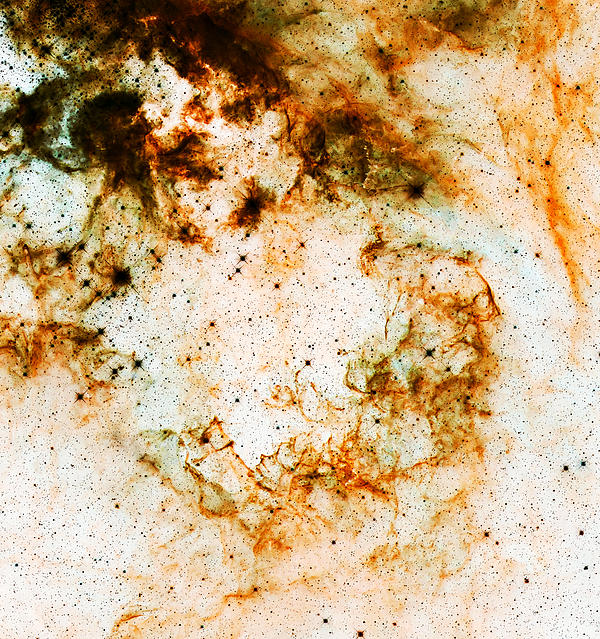 Nebula Photograph - Space Rust by Jennifer Rondinelli Reilly - Fine Art Photography