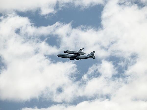 Space Photograph - Space Shuttle Enterprise  by Wayne Gill