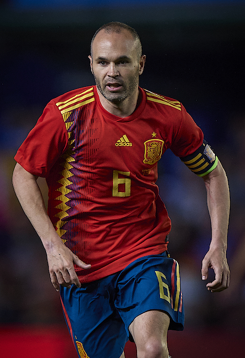 Spain V Switzerland - International Friendly Photograph by Quality Sport Images