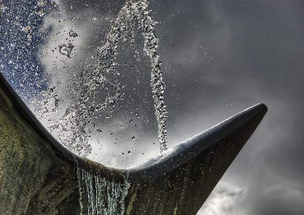 City Photograph - Splash by Wayne Sherriff