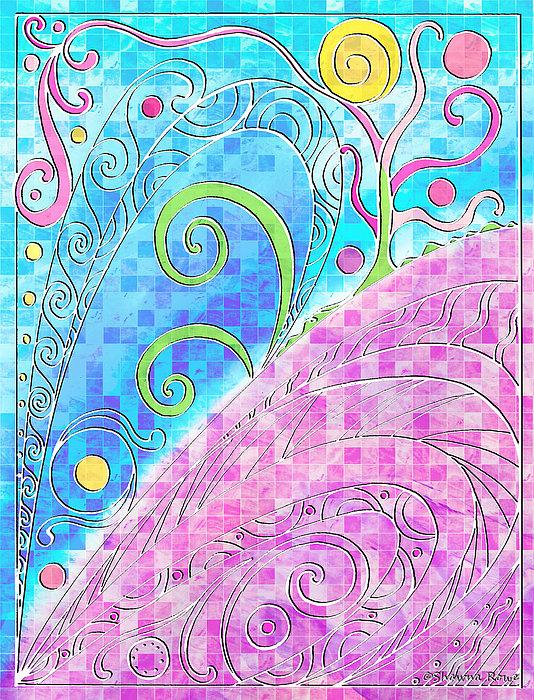 Spring Digital Art - Spring Equinox by Shawna Rowe