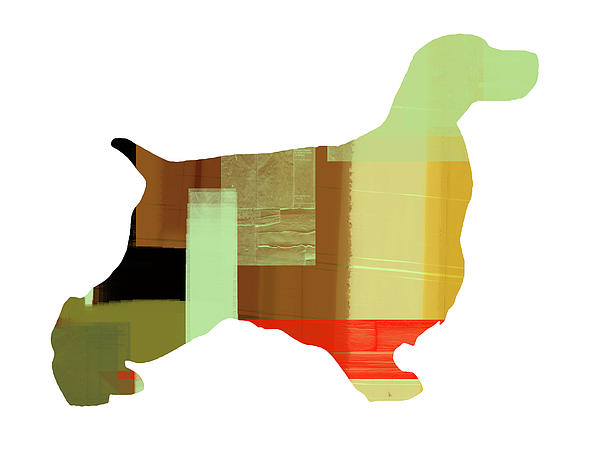 Springer Spaniel Painting - Springer Spaniel  by Naxart Studio