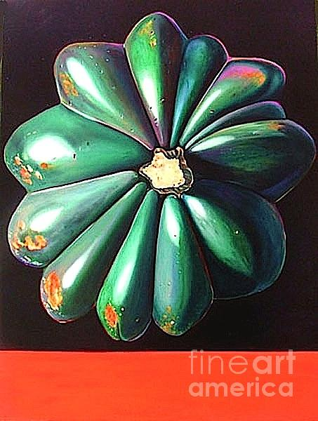 Vegetable Painting - Squash by Shelley Laffal
