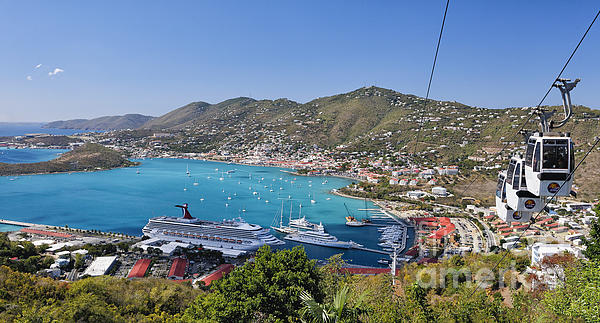 Scenic Photograph - St Thomas Panorama by George Oze