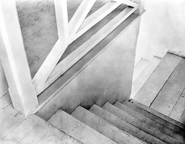 Staircase Photograph - Staircase, Mexico City, C.1924 by Tina Modotti