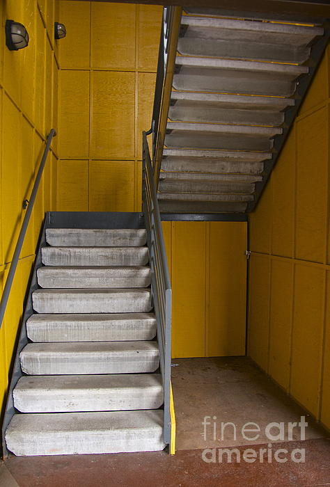 Photography Photograph - Stairwell by Sean Griffin