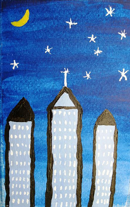 Painting Painting - Star City by Will Boutin Photos