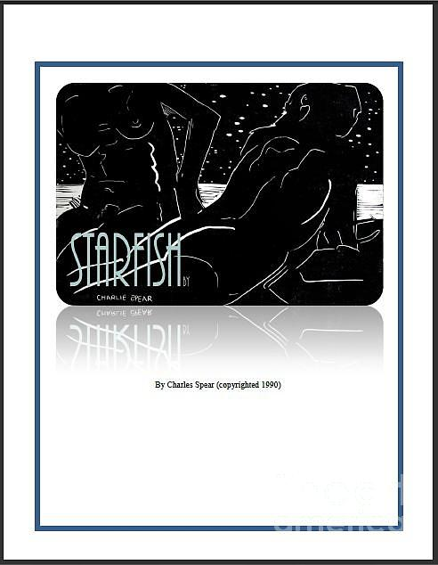 Time Travel Painting - Starfish A Novel by Charlie Spear