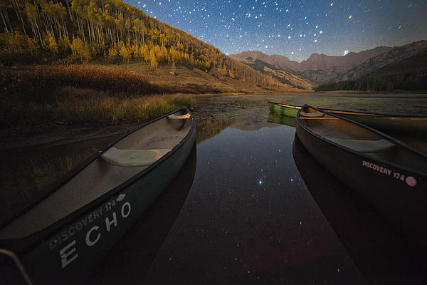 Landscape Photograph - Starlight Discovery At Piney Lake by Mike Berenson