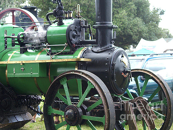 Steam Photograph - Steam Tractor Lives On by Patricia Howitt
