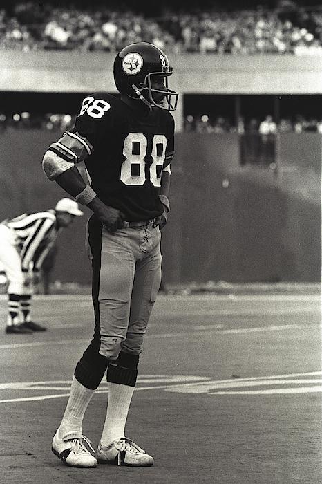 Steelers Lynn Swann Photograph by George Gojkovich