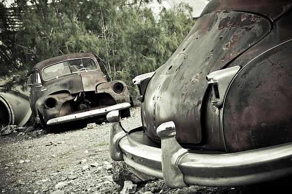 Rust Photograph - Still Here by Merrick Imagery