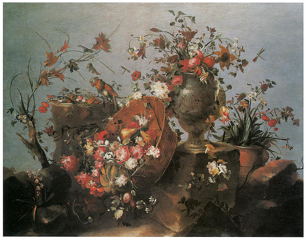 Francesco Guardi Painting - Still Life by Francesco Guardi